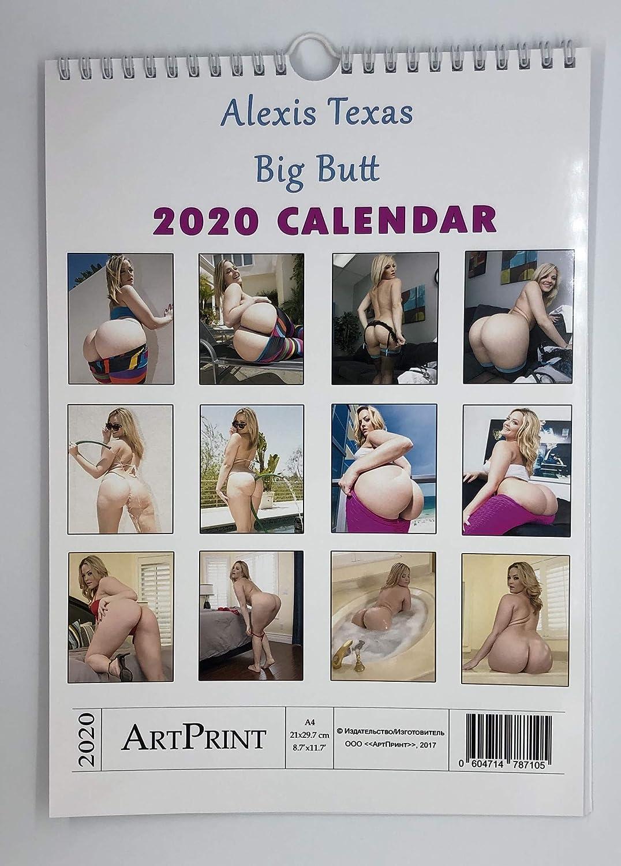 Alexis Texas Big Butt Wall Calendar 2020 Star Mom A4 New A4