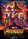Avengers Infinity War Poster Borderless Vibrant Premium Glossy Movie Poster Various Sizes (A2 Size 23.4 x 16.5 Inch / 594 x 420 mm)