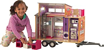 KidKraft 65948 Teeny House Dollhouse with Furniture Dollhouses