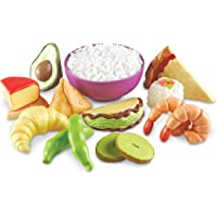 Learning Resources LER7712 New Sprouts Multicultural Food Set,15 Pieces,Multi-color