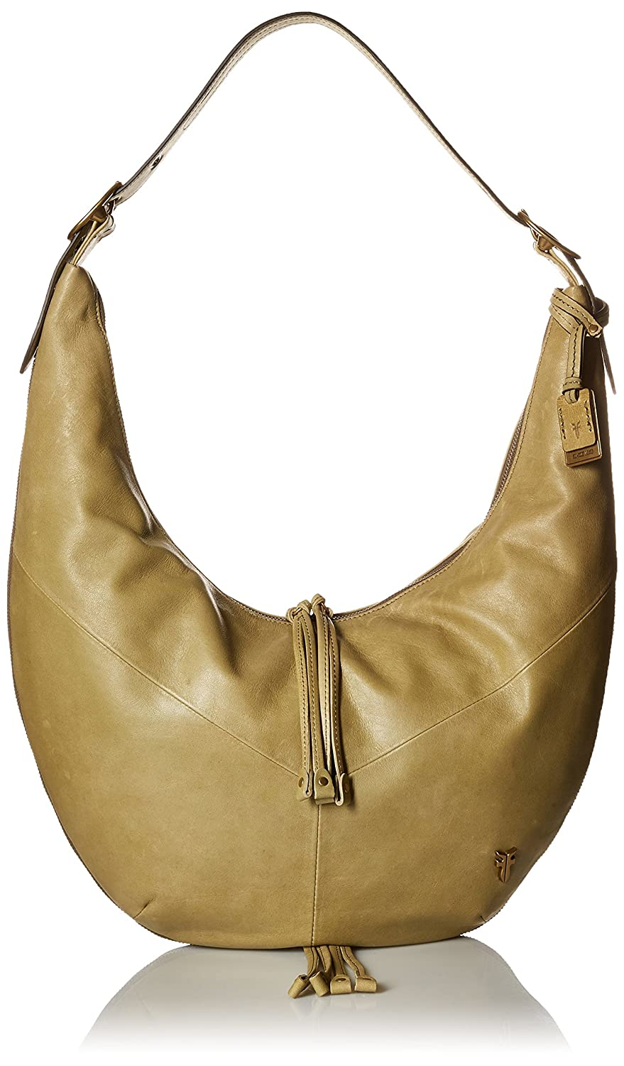 37a9fc05f2ce59 Frye Belle Bohemian Hobo Bag, Moss, One Size: Amazon.co.uk: Shoes & Bags