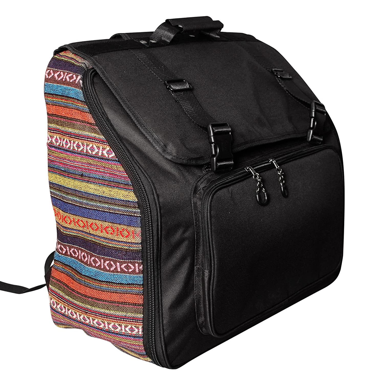 MUSIC FIRST original design Country Style Piano Accordion case / Accordion bag / Accordion gig bag (96~120 Bass, Country Style) WSDADC-CS-96/120