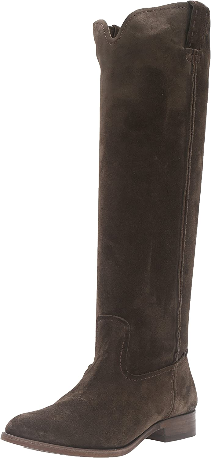FRYE Womens Cara Tall Suede Slouch Boot