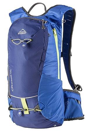 McKinley - Mochila multifunción Crxss 12 II 12 litros color azul marino Lime: Amazon.es: Deportes y aire libre