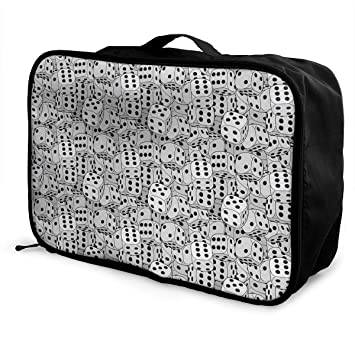 ADGAI Two People Together Canvas Travel Weekender Bag,Fashion Custom Lightweight Large Capacity Portable Luggage Bag,Suitcase Trolley Bag