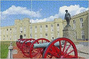 Lantern Press Lexington, Virginia - Virginia Military Institute 9010178 (500 Piece Premium Jigsaw Puzzle for Adults and Family, 13x19)