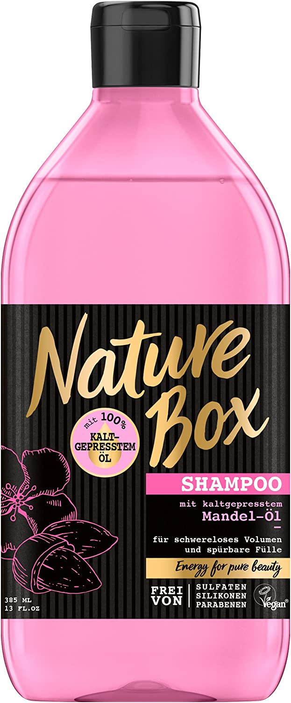 Nature Box Shampoo Mandel-Öl, 3er Pack (3 x 385 ml) NSAL1