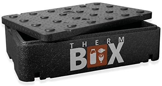 Termo Box - Caja térmica plana (21,5 L, poliestireno, interior 54 x 34 x 11 cm): Amazon.es: Industria, empresas y ciencia
