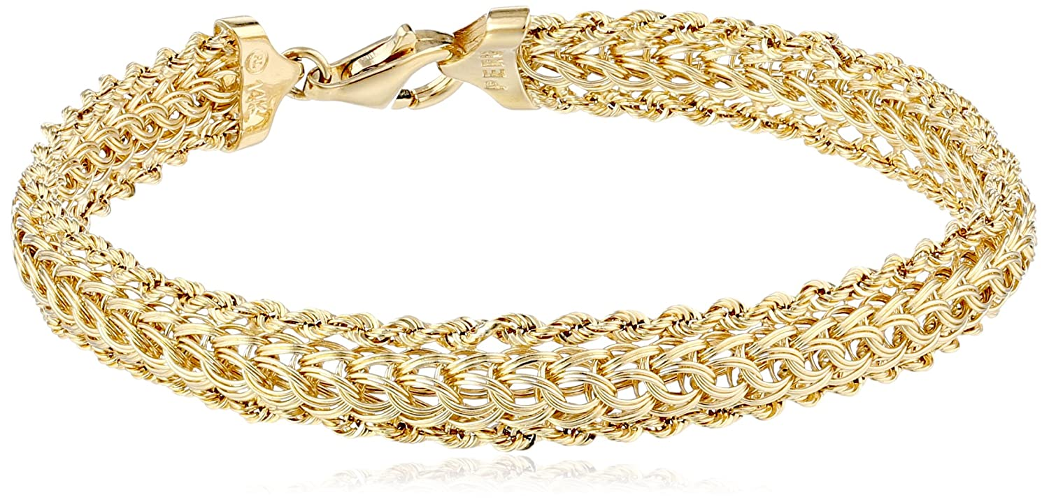quality bracelet museum node gold wonderful bangles diamond karat bracelets plus carats bangle rose