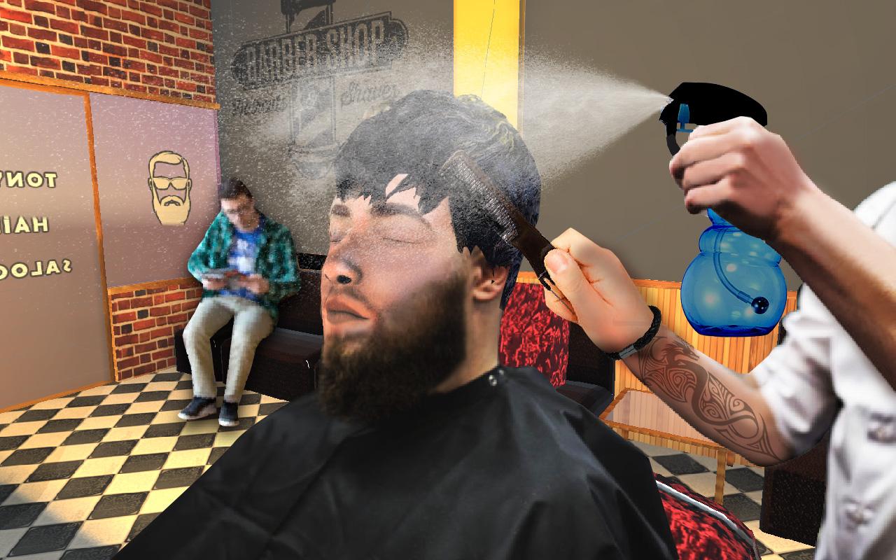 Hair Salon Fun Game Barber Shop Hair Cutting Games Amazon Com Br Amazon Appstore