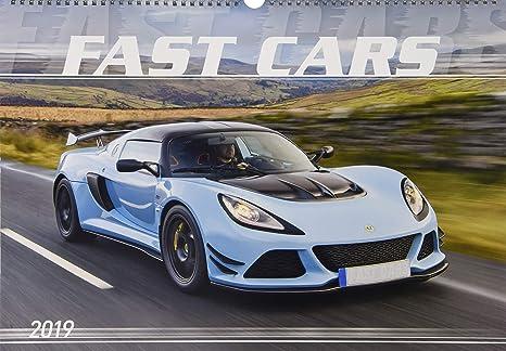 Calendario Auto.Calendario Da Muro Auto Veloci 2019 48 5x34 Cm