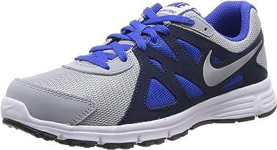 Nike Revolution 2 GS, Zapatillas de Running para Niños, Gris/Azul Marino/ Azul/Blanco, 36 EU: Amazon.es: Zapatos y complementos