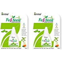 Zindagi Stevia Liquid Drops(FosStevia) - 100% Natural Sugar-Free - Stevia Tabletop Sweetener (400 Servings)
