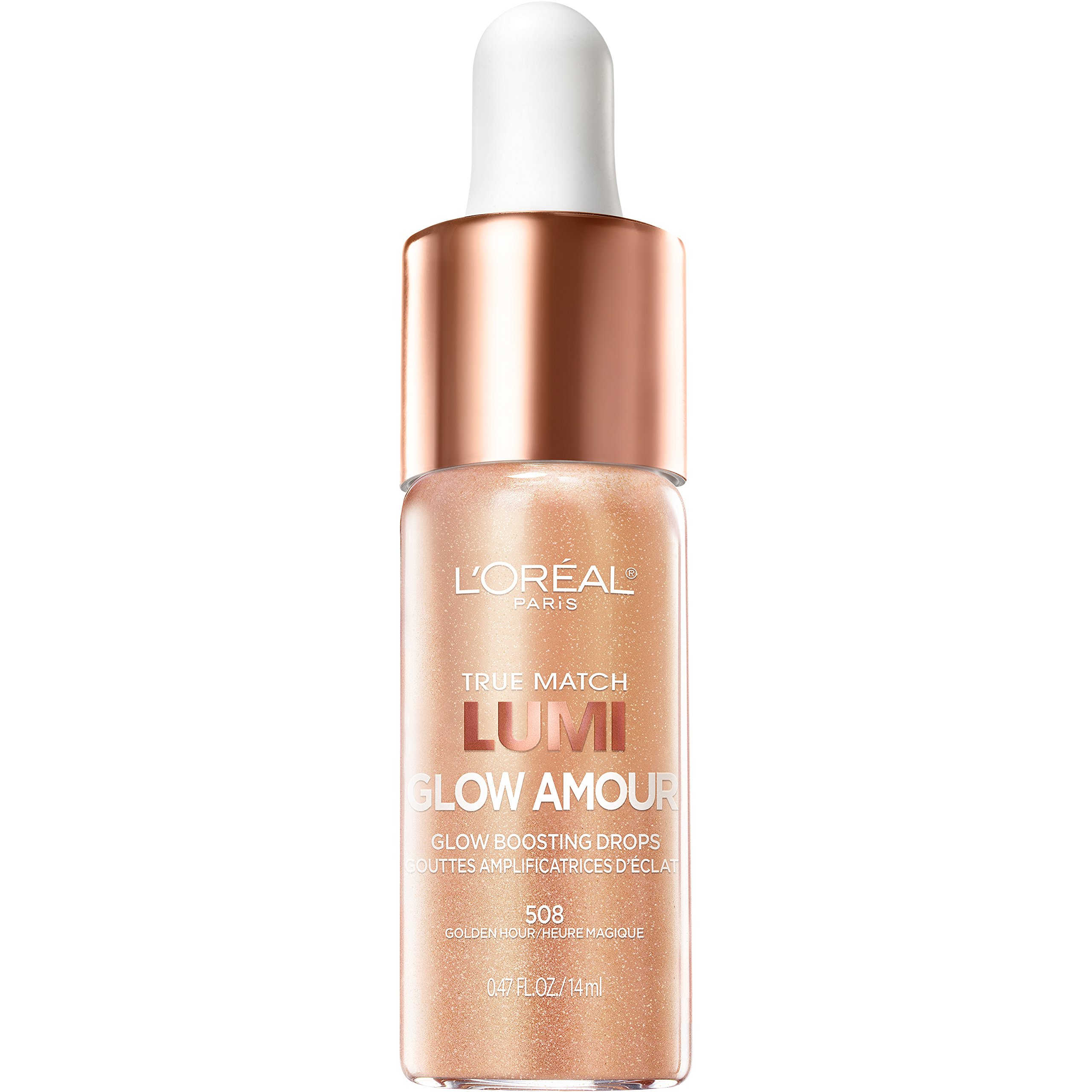 L'Oreal Paris Cosmetics True Match Lumi Glow Amour Boosting Drops, Golden Hour, 0.47 Fluid Ounce