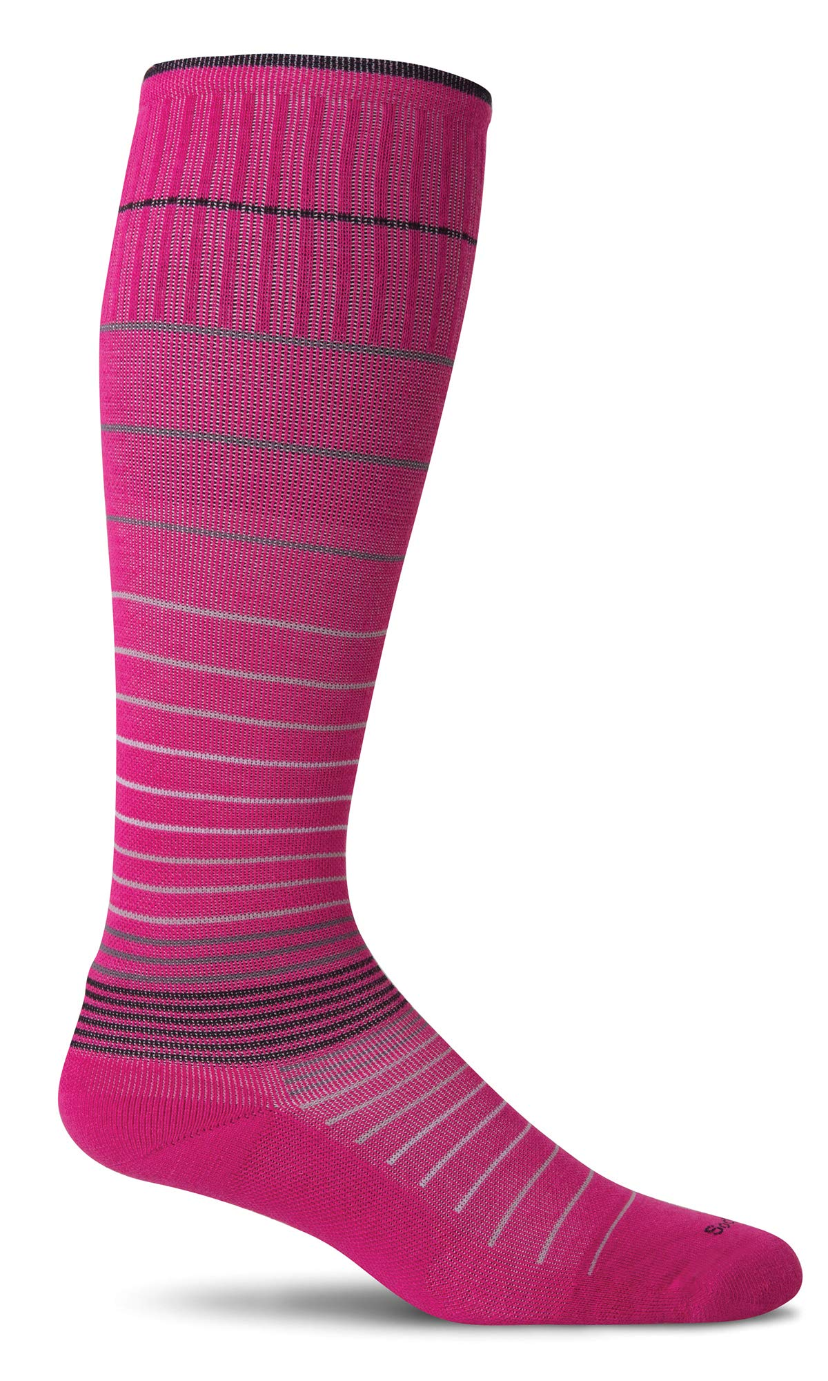 Sockwell Women's Circulator Graduated Compression Socks, Small/Medium (4-7.5) Azalea