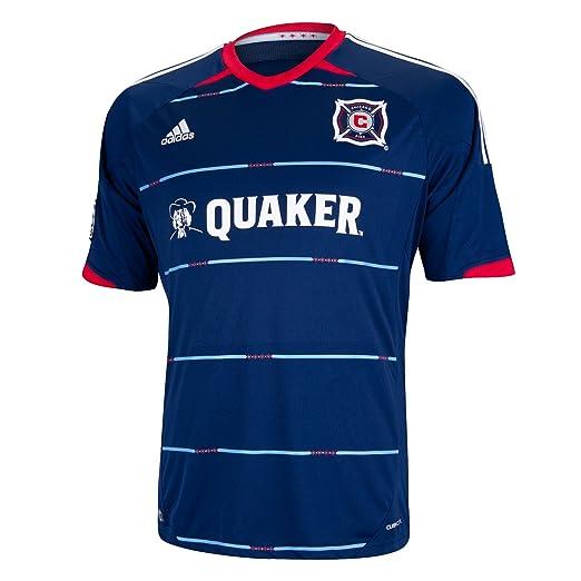 the best attitude c6b98 16a9c MLS Chicago Fire Short Sleeve Replica Jersey