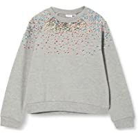 NAME IT Nkfnaimma LS Sweat BRU Suter Pulver para Niñas