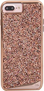 Case-Mate - iPhone 7 Plus Case - Brilliance - 800+ Genuine Crystals - for iPhone 7 Plus / 6s Plus / 6 Plus - Rose Gold