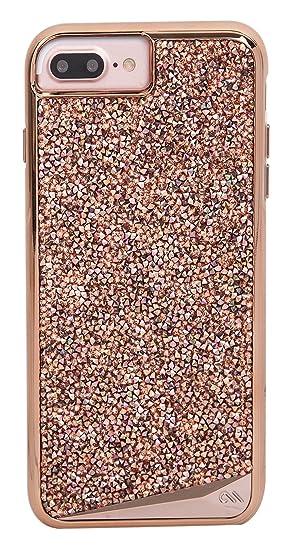 super popular d7f9a 06f0b Case-Mate - iPhone 7 Plus Case - Brilliance - 800+ Genuine Crystals - for  iPhone 7 Plus / 6s Plus / 6 Plus - Rose Gold
