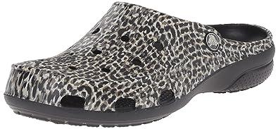 57160b42e Crocs Freesail Animal W Women s Clogs - Black (Black)