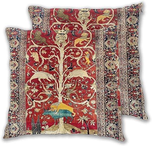 HQSL Funda de Almohada Cushion Covers Pack of 2 Cushion Covers ...