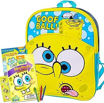 Nickelodeon SpongeBob SquarePants Kids Backpack Small Bag