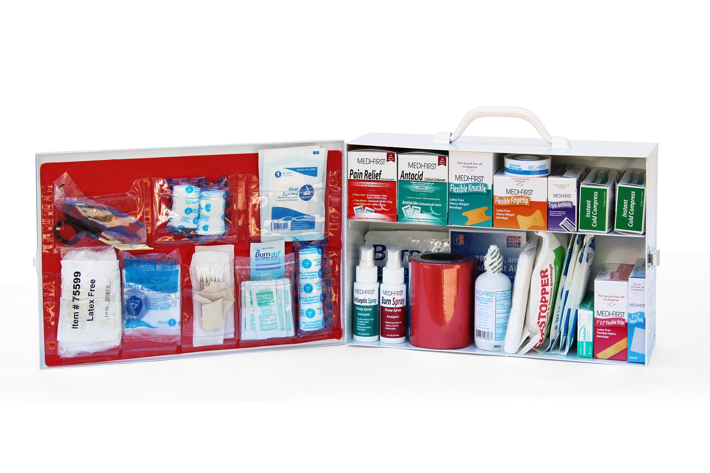 Medique Products 756ANSI Filled Two Shelf First Aid Kit