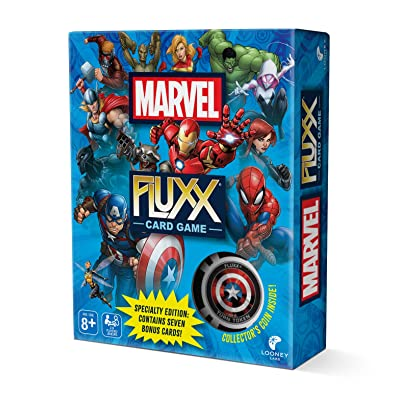 Looney Labs Marvel Fluxx Specialty Edition Card Game: Toys & Games