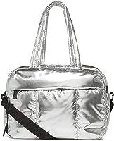 CALPAK Luka Duffel Bag Metallic Silver
