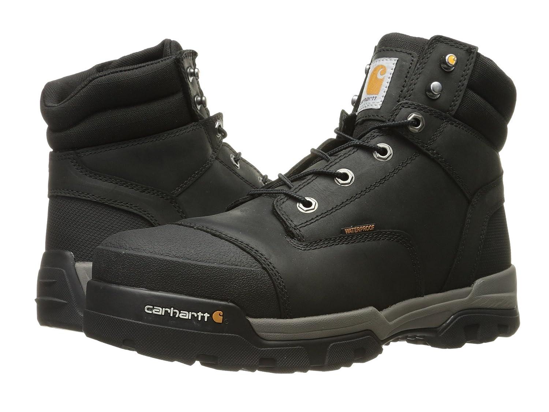 [カーハート] Carhartt メンズ 6 Ground Force Waterproof Composite Toe Work Boot アンクルブーツ [並行輸入品] B075RB9WXN 29.5 cm D|Black Oil Tanned Leather Black Oil Tanned Leather 29.5 cm D