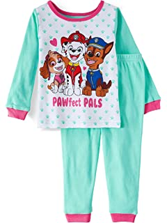405f4b3e81 Paw Patrol PAWfect PALS Toddler Girls 2 Piece Sleepwear Pajama Set Green  Blue