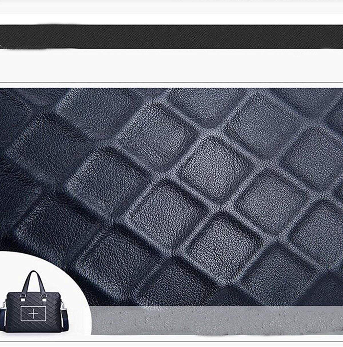 FYH Upmarket Fashion Knurling Business Casual Package Briefcase For Man Multicolor Handbag