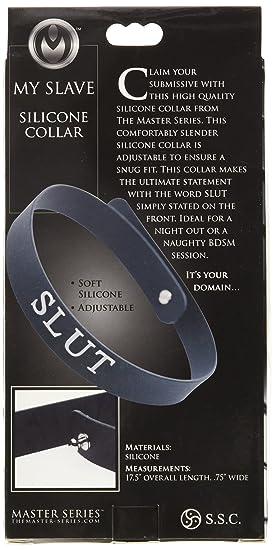 Silicone black slut