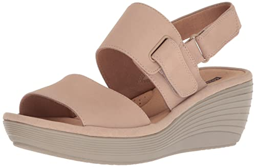 239f50b7e14 Clarks Womens Reedly Breen Wedge Sandal  Clarks  Amazon.ca  Shoes ...