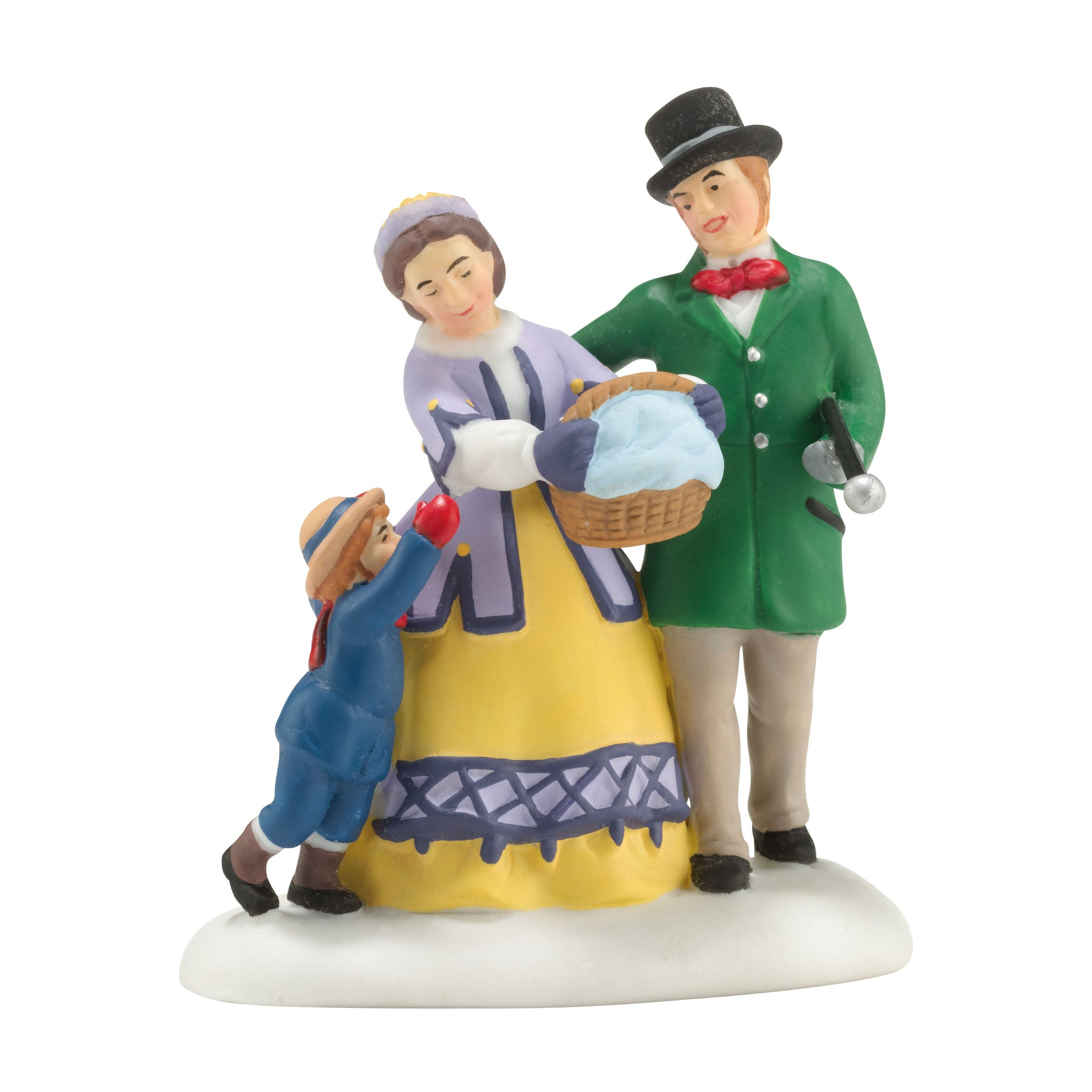 Department 56 Dicken's Village Off to the Festivities Accessory Figurine, 1.57 inch