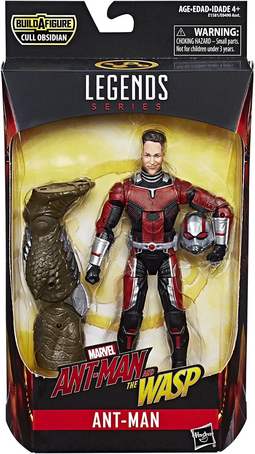 """Marvel Legends 6/"""" scale figure Wasp Cull Obsidian series loose excellent"""