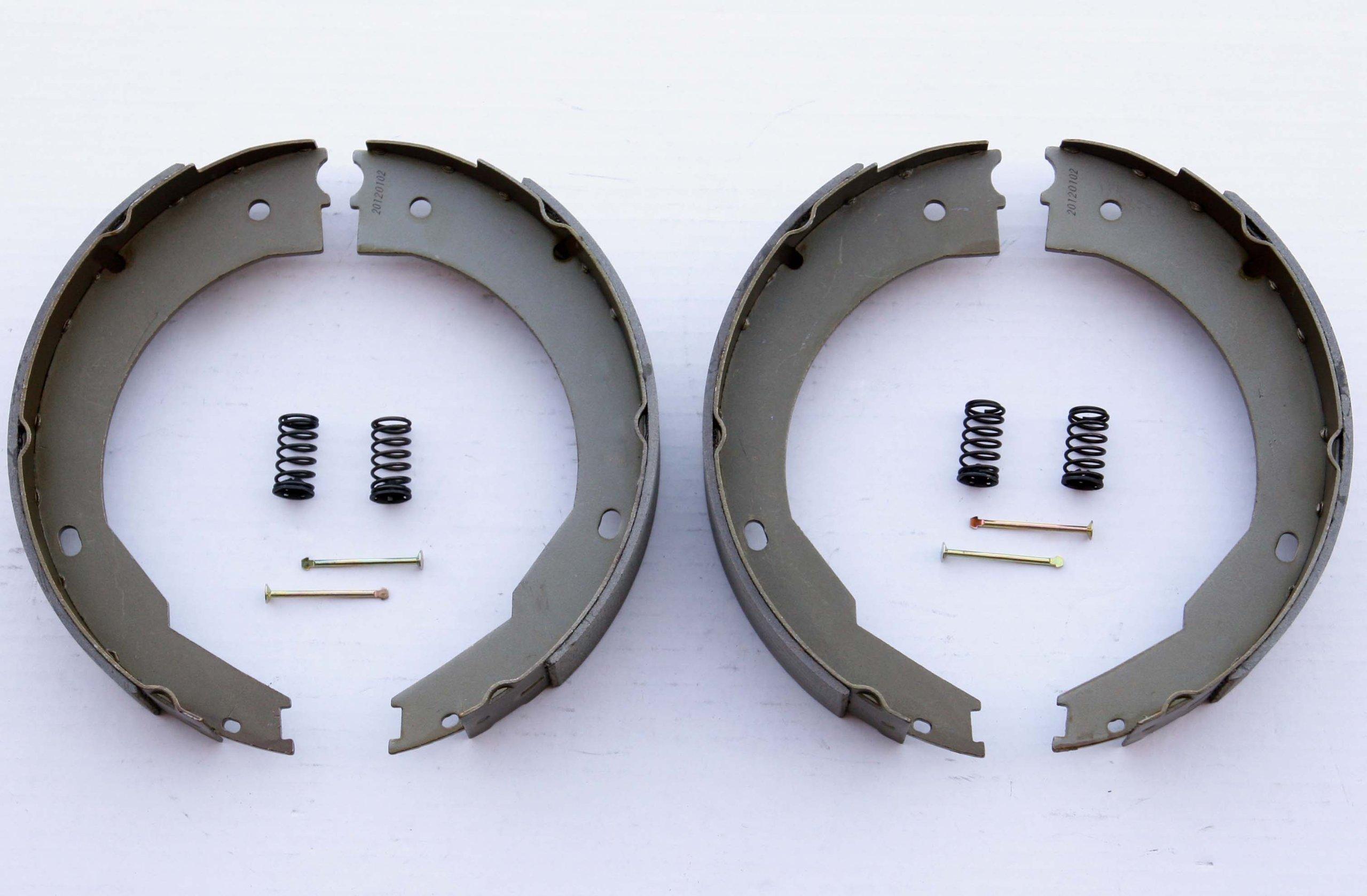 LIBRA 12'' X 2'' trailer brake shoes replacement kits (2 pairs) - 21029/21042 by Libra