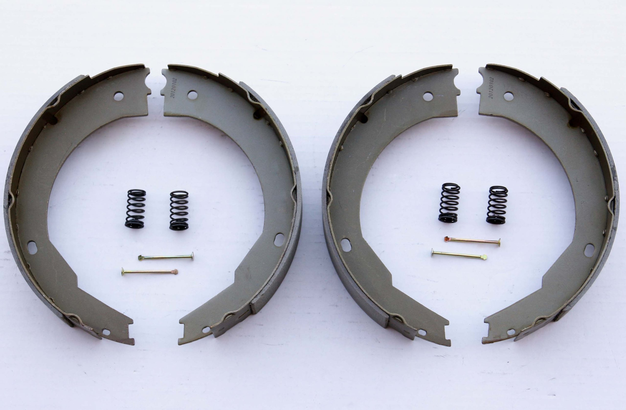 LIBRA 12'' X 2'' trailer brake shoes replacement kits (2 pairs) - 21029/21042 by Libra