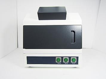 UV ultravioleta analizador probador de laboratorio análisis ultravioleta UV lámpara UV caja armario oscuro caja 220 V: Amazon.es: Hogar