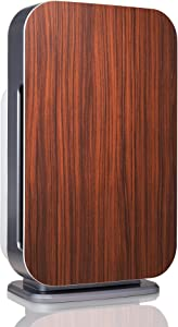 Alen FLEX Air Purifier,H13 True HEPA for Large Rooms up to 700 Sqft, SleepScore Validated, Dust, Mold, Pet Odors, Rosewood