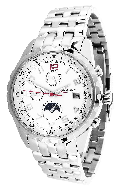 Creactive Herren-Armbanduhr Automatik Analog Edelstahl - CA120102