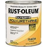 Rust-Oleum 260165 Ultimate Polyurethane, 1 Quart, Matte