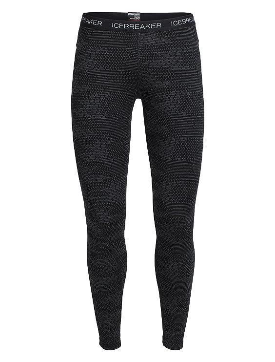 0ea03ea3b903f Icebreaker Women's Vertex Leggings Flurry Bodyfit: Amazon.co.uk: Sports &  Outdoors