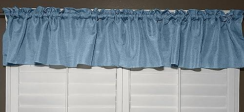 lovemyfabric Vintage Faux Linen Valance Window Treatment Window Decor 56 X24 Inch