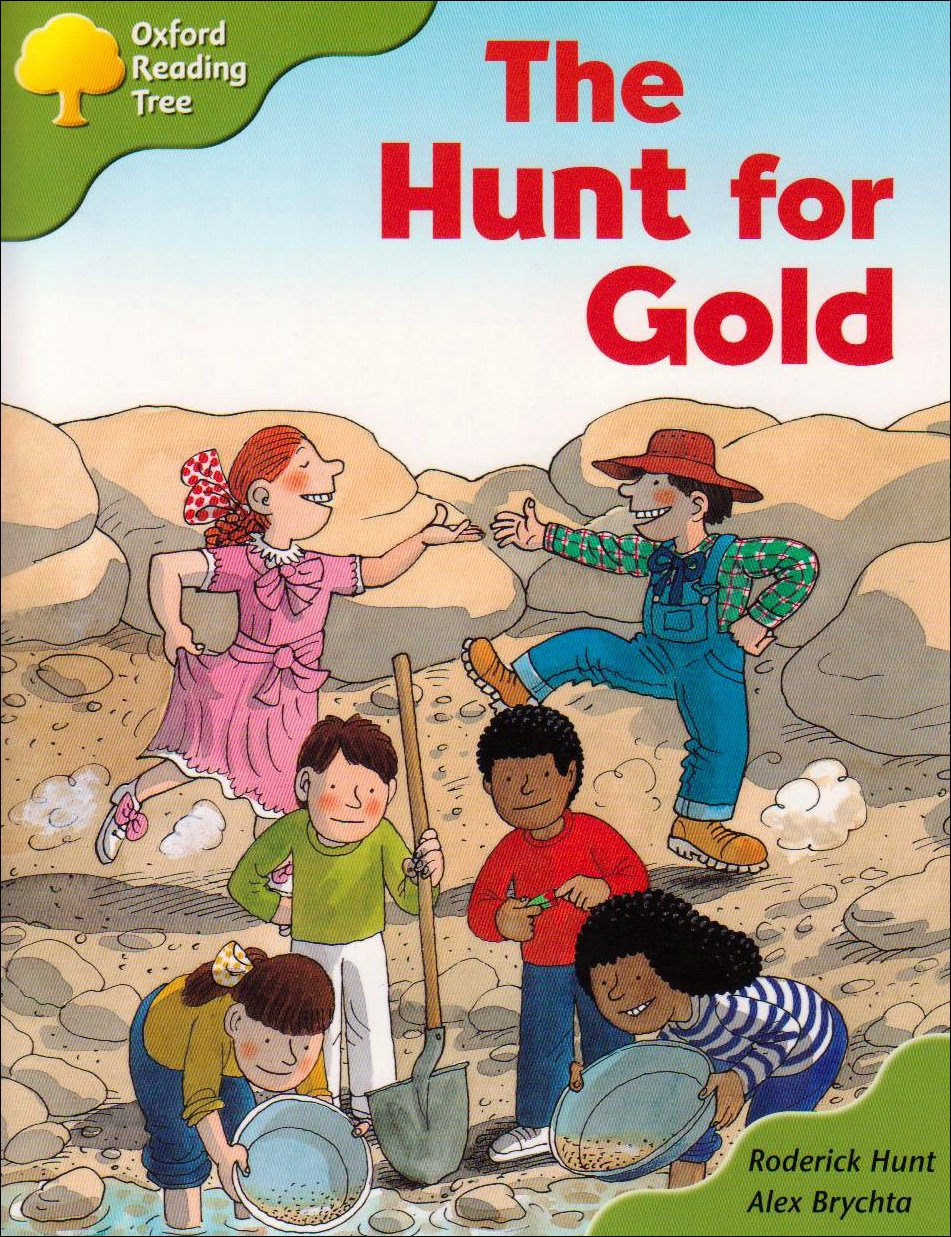 Download Oxford Reading Tree: Stage 7: More Storybooks A: the Hunt for Gold pdf epub