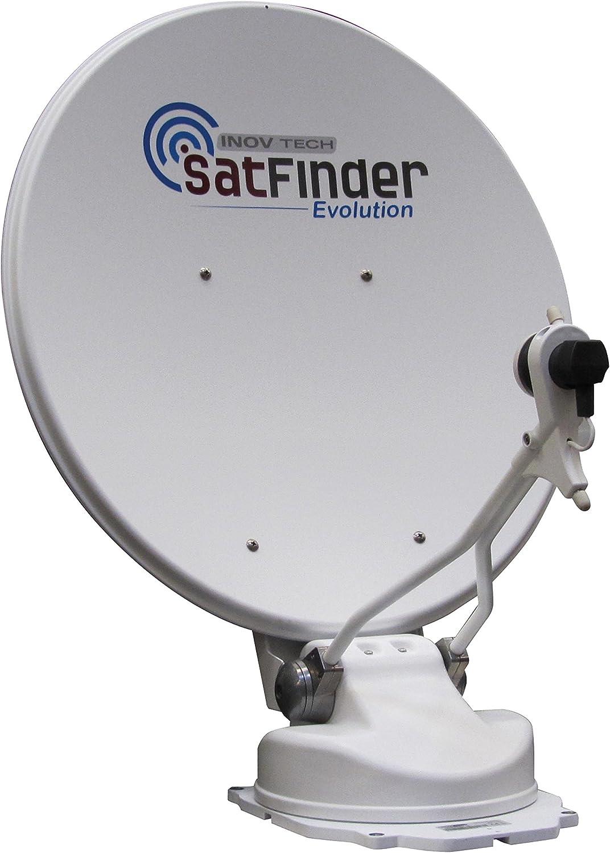Antena de satélite automático Satfinder Evolution 65 cm ...