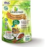 Biscoito Palitos Salgados Linhaca Marrom Leve Crock 150g
