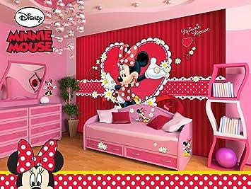 Disney Minnie Vlies Fototapete Tapete Vliestapete Dekoshop Disney ...