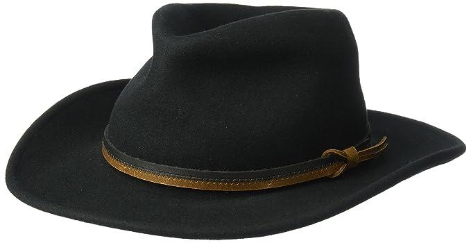 Country Gentleman Mens Outback Wool Drop Brim Fedora Hat  Amazon.ca ... 095390ca105