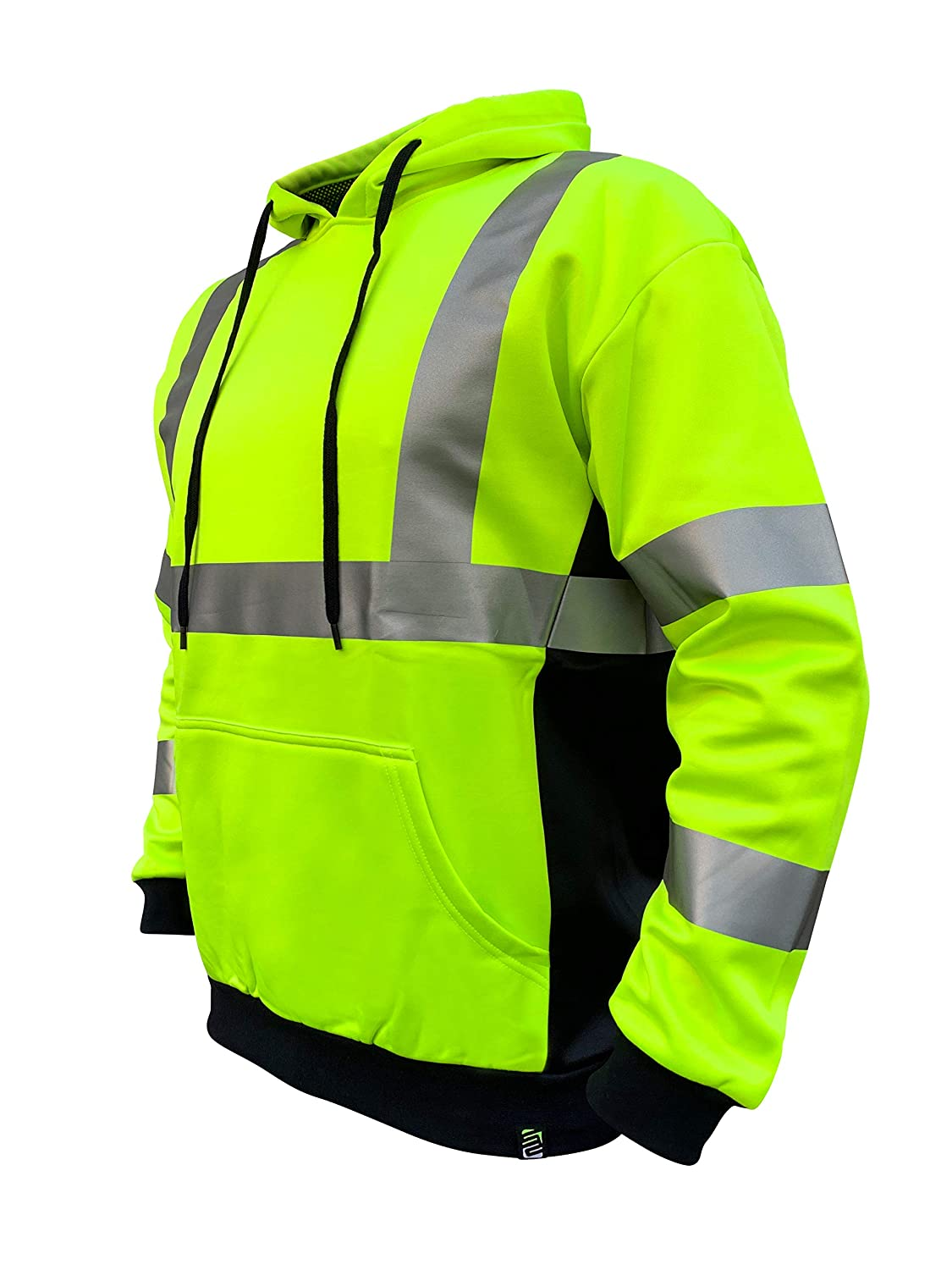 Safety Green SafetyShirtz SS360 ANSI Class 3 Safety Hoodie Yellow